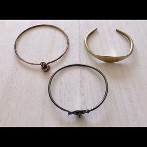 Set of Three Marc Jacobs Bracelets